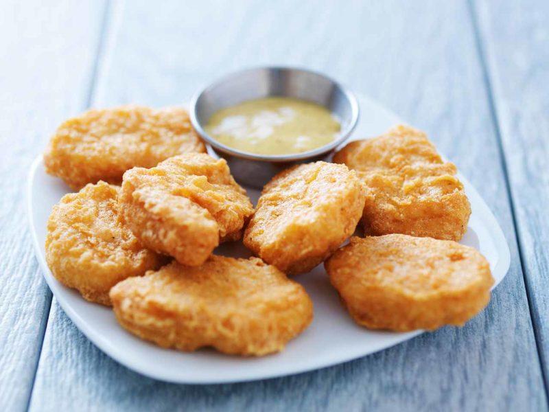Chicken Nuggets with Honey Mustard